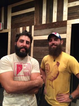 Michael Ray and Bob Layne of Joe-N-Throw in Fairmont, West Virginia