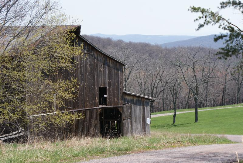 Old barn in Hardy County, W.Va.