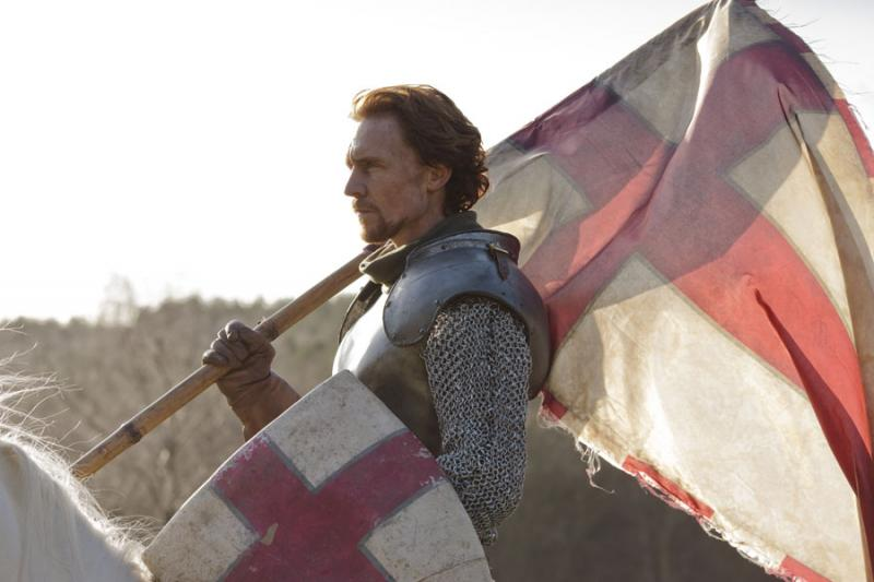 Tom Hiddleston as Henry V in Hollow Crown