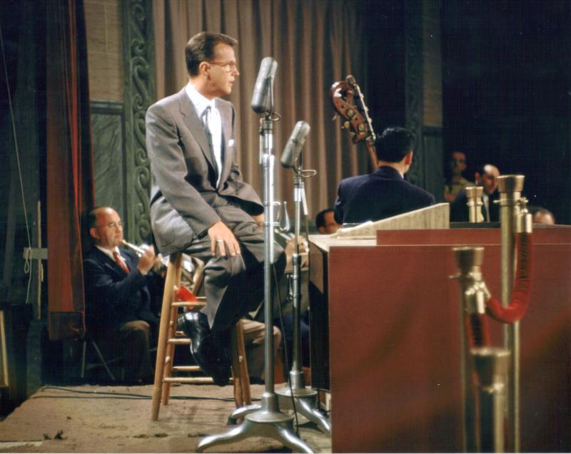 "Bill Cullen hosts ""Bank on the Stars"" 1954"