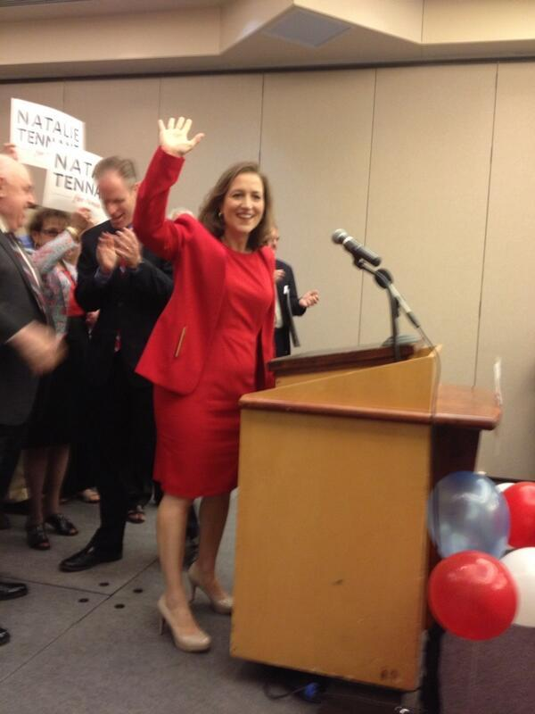 WV Secretary of State Natalie Tennant announces intentions to run for US Senate 2013