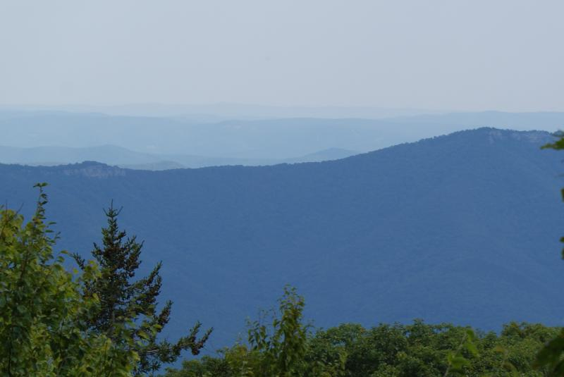 View from Dolly Sods, W.Va.