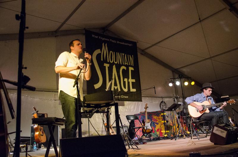 Andrew Walesch live on Mountain Stage