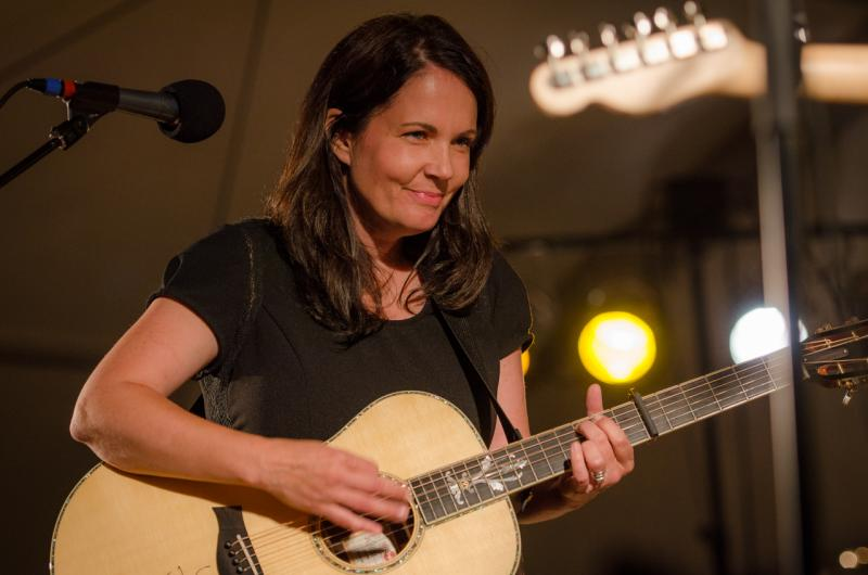 Lori McKenna live on Mountain Stage