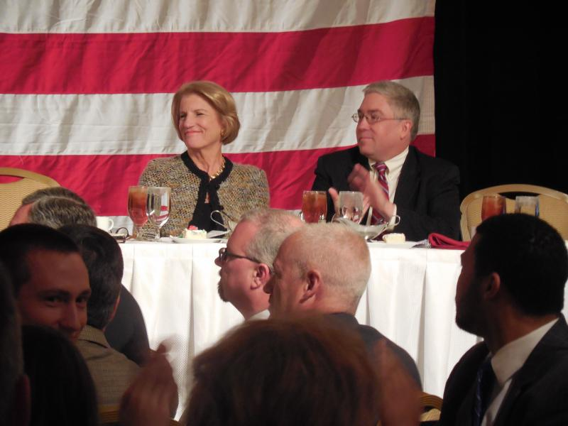 Congresswoman Shelley Moore Capito and Attorney General Patrick Morrisey.