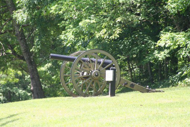 Cannon at Droop Mountain