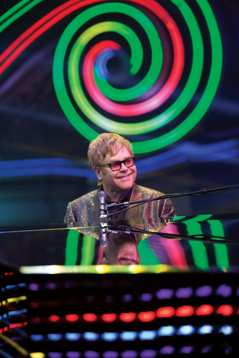 Elton John in Concert, Saturday, Oct. 5, 8 p.m.