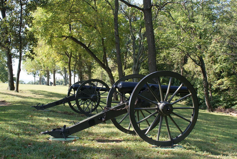 Cannons on Bolivar Heights, Harpers Ferry National Historical Park