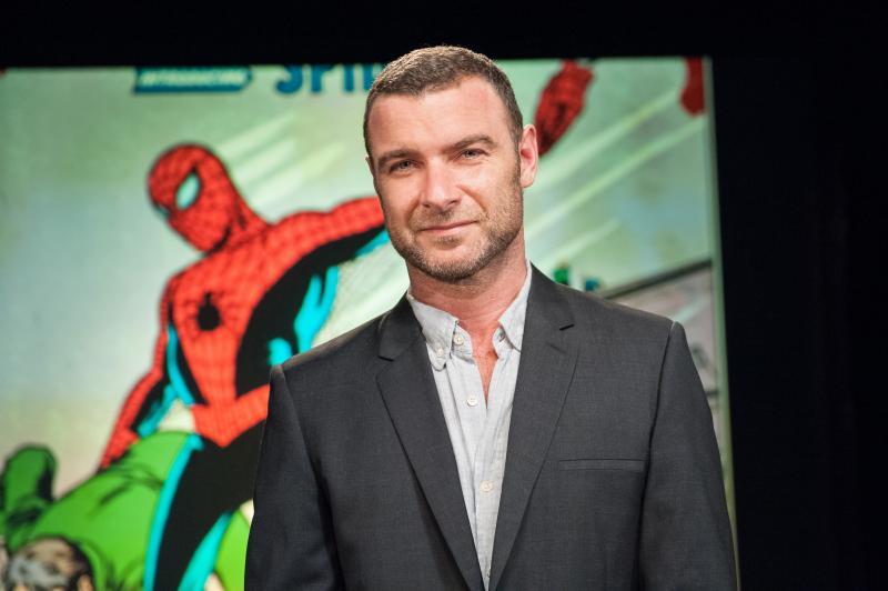 Actor Liev Shreiber, host of Superheroes documentary