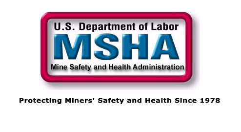 U.S. Department of Labor Mine Safety and Health Administration