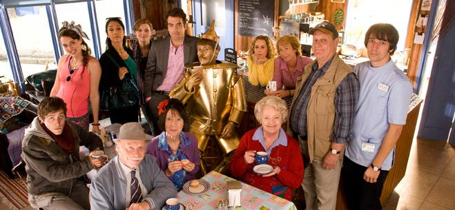 The Cast of The Cafe