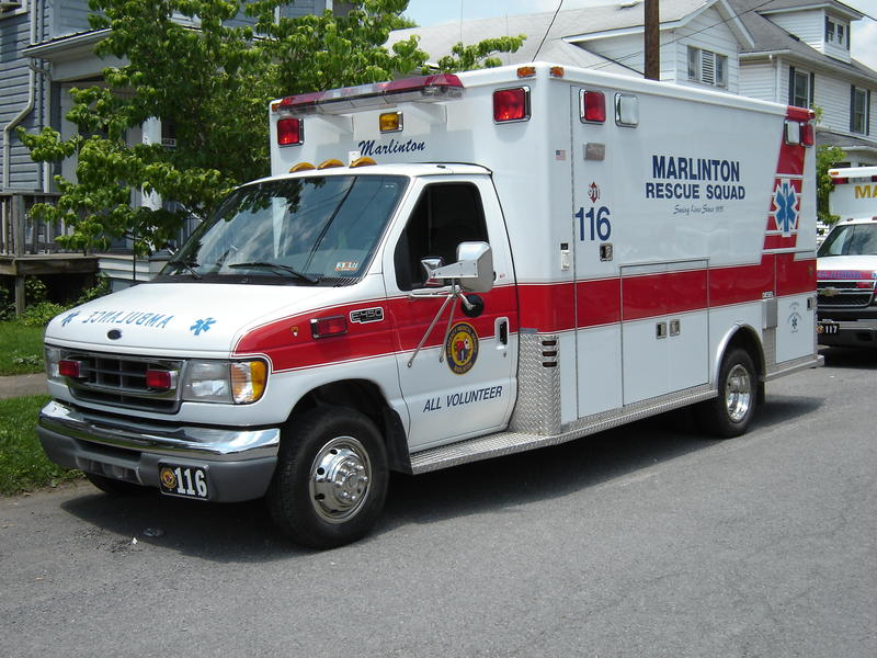 West Virginia ambulance
