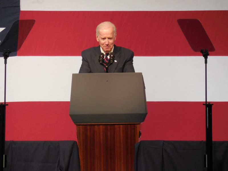 """""""They didn't know you, Jay. You came to give,"""" said Vice President Joe Biden."""
