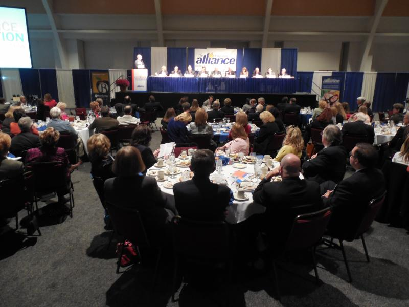 An afternoon panel allowed West Virginia lawmakers, business leaders and educators to share their reactions of the morning sessions.