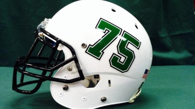 marshall football unveils helmet to honor victims of 1970