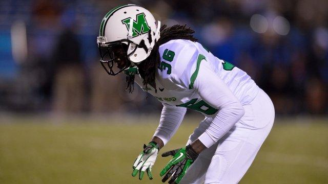 Marshall Senior Cornerback Monterius Lovett
