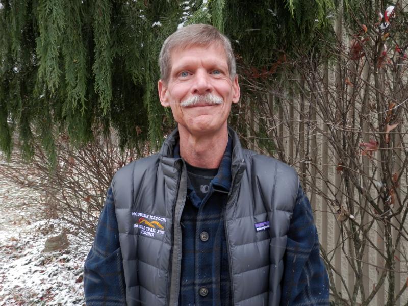 Marathoner Bill Warner of Beckley