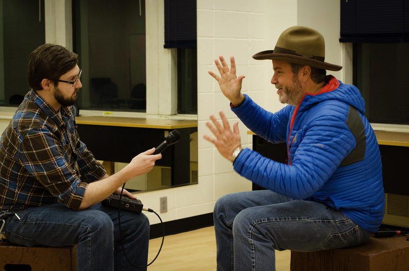 West Virginia Public Broadcasting's Dave Mistich sits down with Robert Earl Keen, Jr. backstage at the Creative Arts Center in Morgantown before the show.