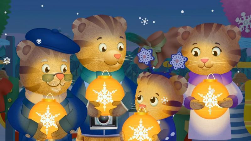Daniel has a special role in the Snowflake Day Show. Two new episodes of Daniel Tiger's Neighborhood premiere Nov. 27 at 11 a.m. on WV PBS