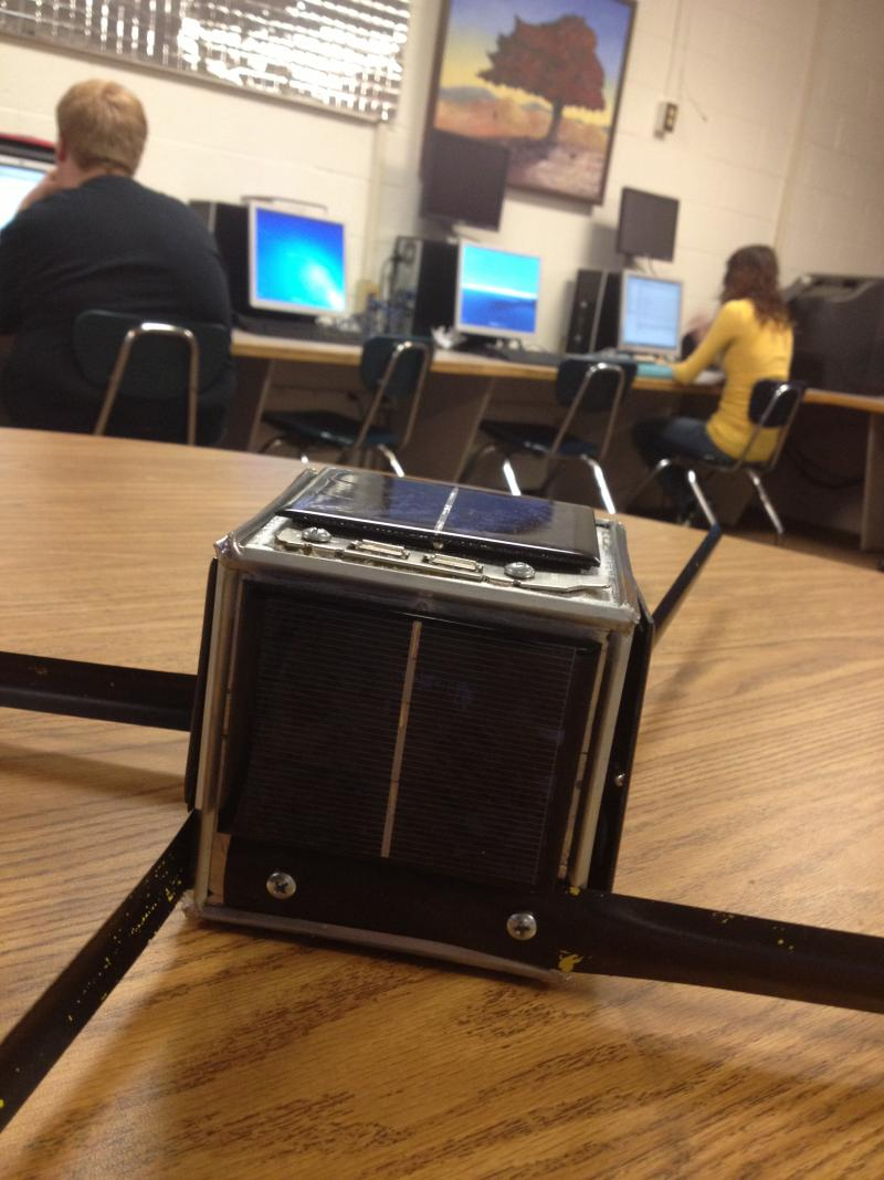 Meet CubeSat - the small satellite students are building