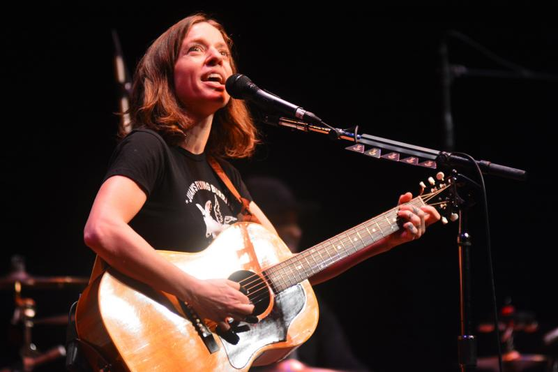 Ani DiFranco performs live on Mountain Stage