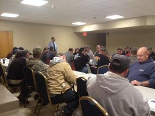 Laid off miners attend rapid response meeting in Summersville
