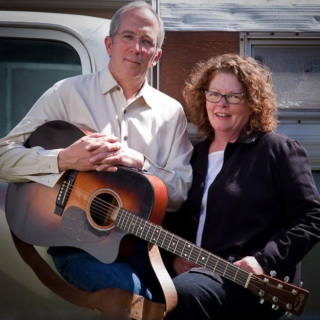 Mollie O'Brien and Rich Moore return to Mountain Stage for the 30th anniversary performance on Dec. 1, 2013.