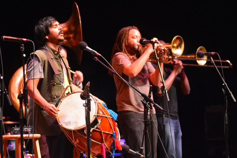 Red Baraat, live on Mountain Stage