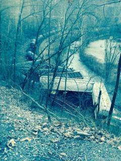 Train Derails in McDowell County