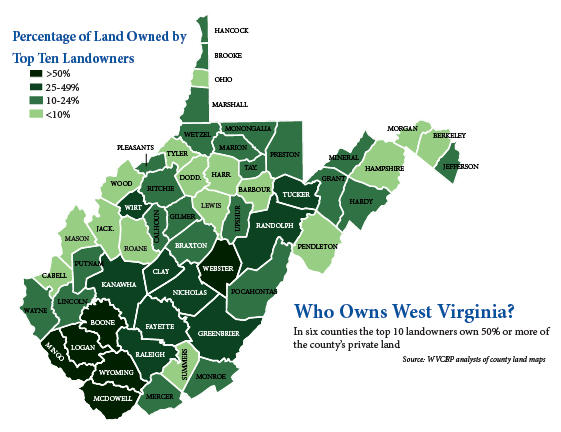 Jobless Rate Fell In WVa Counties In November West Virginia - West virginia county map