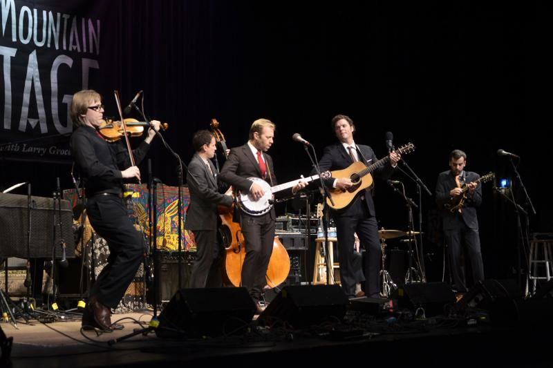 Steep Canyon Rangers on Mountain Stage