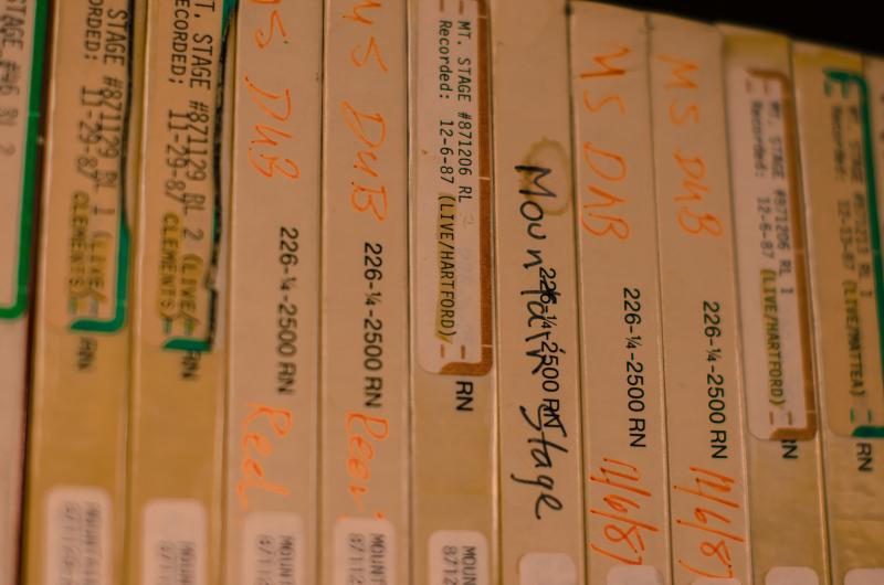 These Mountain Stage performances from the 1980s will be digitized as part of the Digital Archive Project.