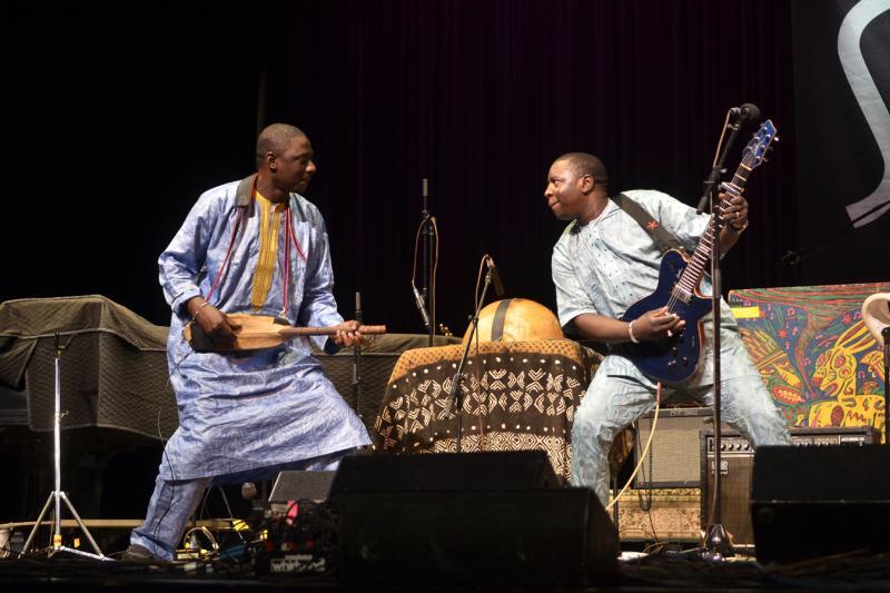 Vieux Farka Toure on Mountain Stage