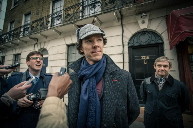 Benedict Cumberbatch plays Sherlock Holmes in Masterpiece Mystery's presentation of this famous detective penned by Sir Conan Doyle.