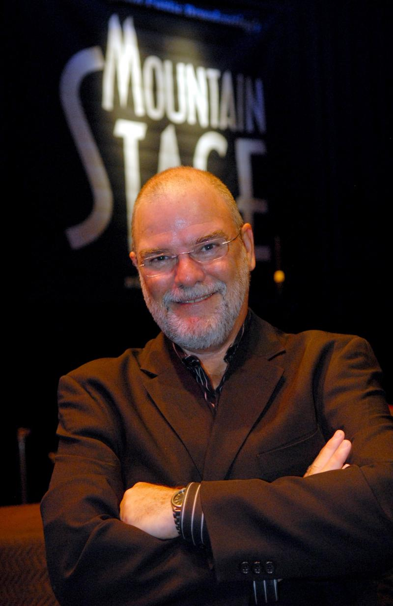 Larry Groce, host and artistic director of Mountain Stage