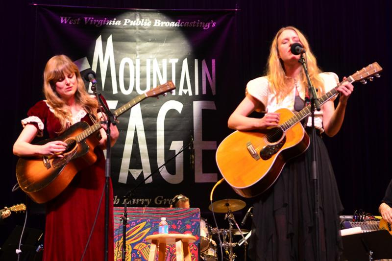 The Chapin Sisters, live on Mountain Stage