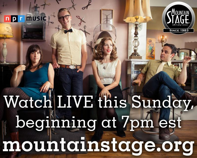 Lake Street Dive, appearing this Sunday on Mountain Stage