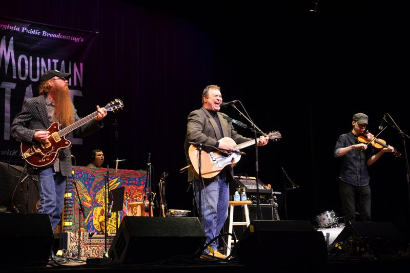The Overmountain Men on Mountain Stage
