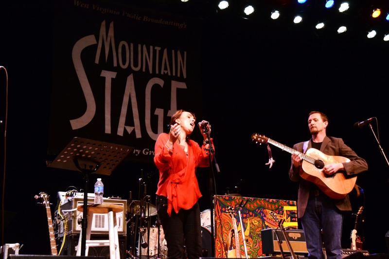 Karen Casey & John Doyle live on Mountain Stage