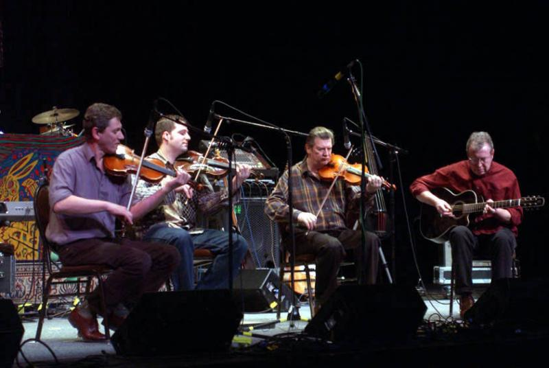 Celtic Fiddle Festival live on Mountain Stage