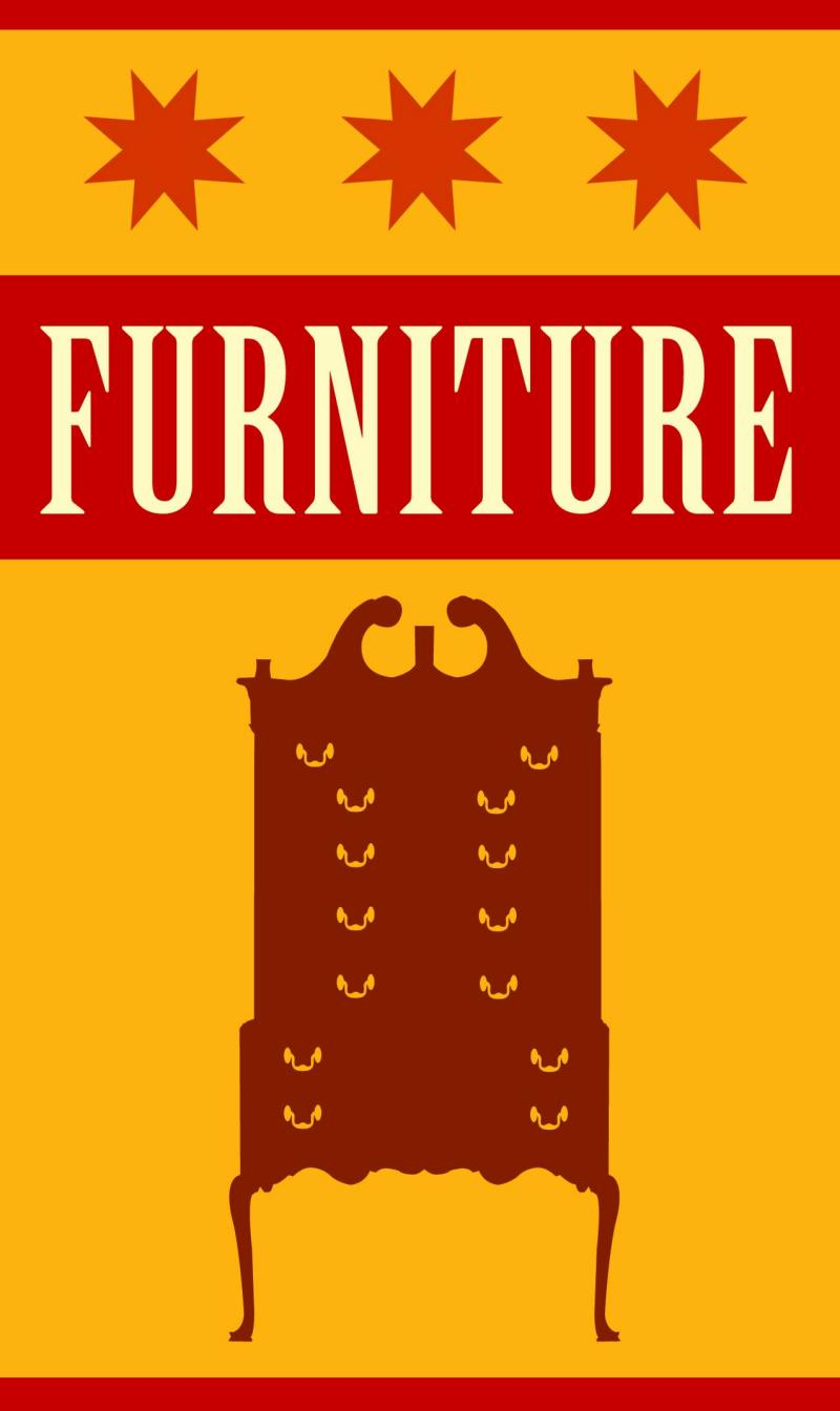 Furniture Roundup graphic for Antiques Roadshow