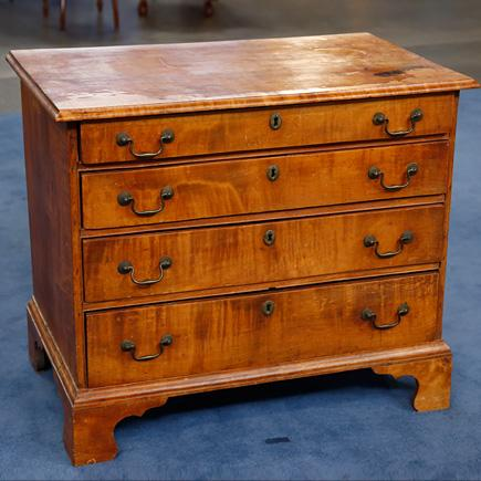 Chippendale chest from Antiques Roadshow's Boise, ID, event in 2013.
