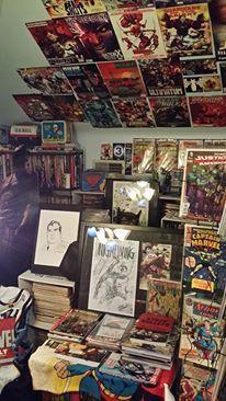 Urecki says his favorite comic books are Superman...