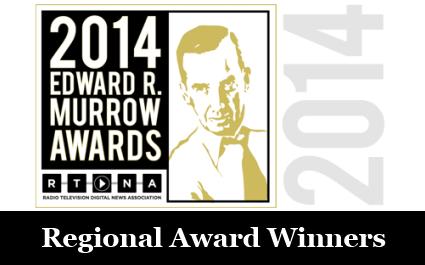 Edward R. Murrow 2014 Award logo