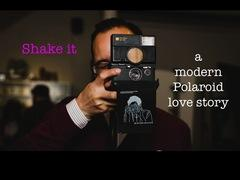 Shake it- a modern Polaroid love story