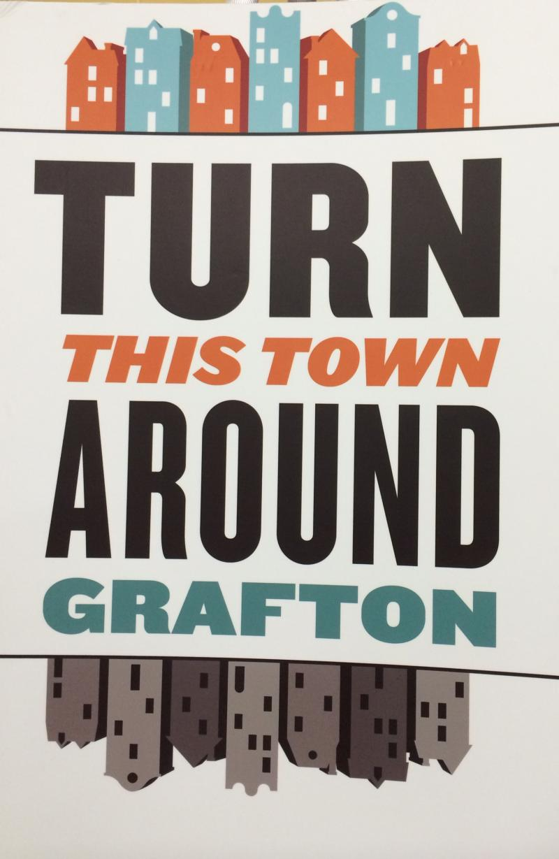 Turn This Town Around Grafton poster