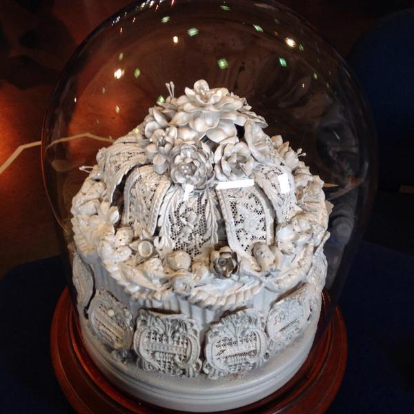 Victorian Wedding Cake at Antiques Roadshow Charleston