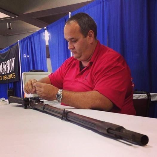 Firearms appraisal at Antiques Roadshow Charleston