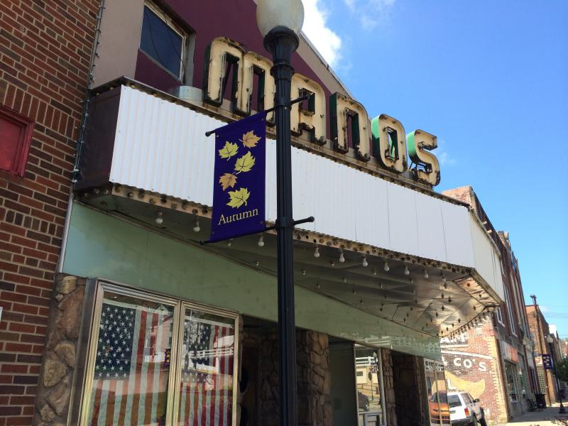 Manos Theatre in Downtown Grafton