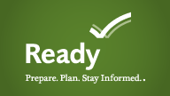 Prepare. Plan. Stay Informed. Be Ready